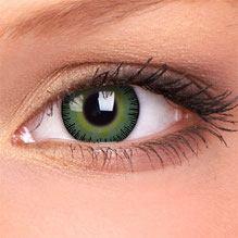 Barevné čočky Green Yellow
